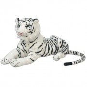 80164  Tiger Toy Plush White XXL - Untranslated