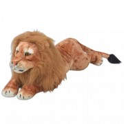 Lion en peluche Marron XXL