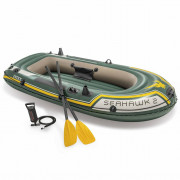 Barca inflable Seahawk 2 68347NP con remos y bomba