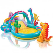 Piscine gonflable Dinoland Play Center 333x229x112 cm 57135NP
