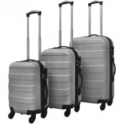 Set Trolley Rigidi 3 pz Argento