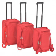 Ensemble de valises 3 pcs Rouge