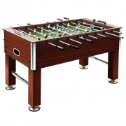 Table de football Acier 60 kg 140 x 74,5 x 87,5 cm Marron