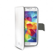 WHITE PU WALLET CASE GALAXY S5MINI