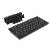 BLUETOOTH KEYBOARD W/SUPPORT FOR TABLETS AND SMARTPHONES      IN
