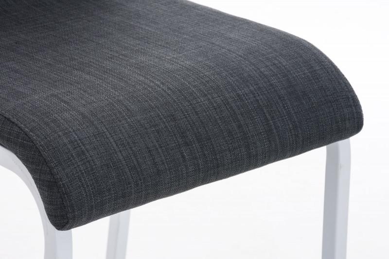 Clp sgabello da bar avola tessuto flach w grigio scuro epto