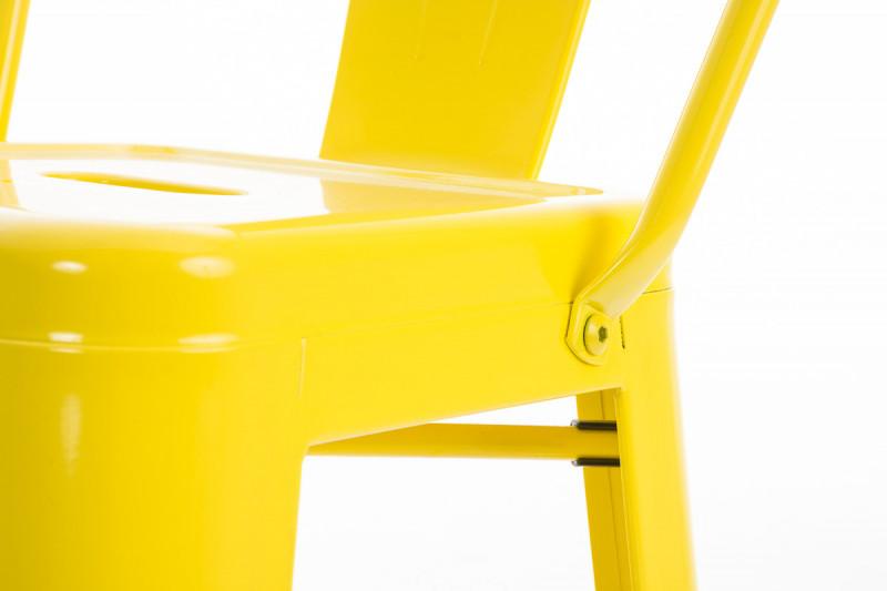 Clp sgabello da bar aiden giallo epto