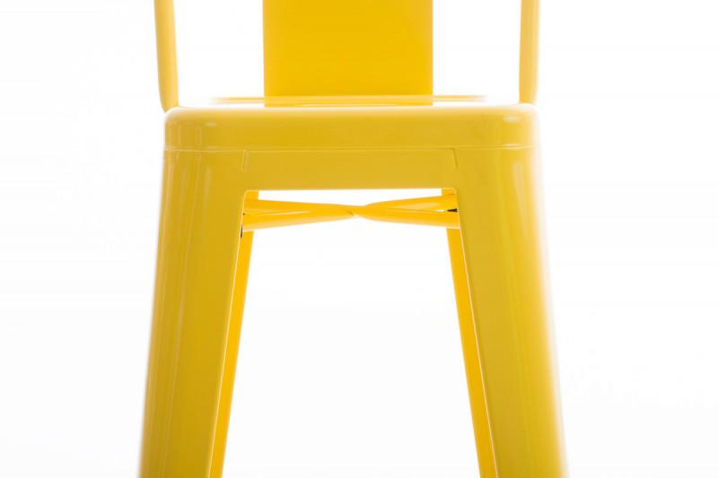 Clp sgabello da bar mason giallo epto