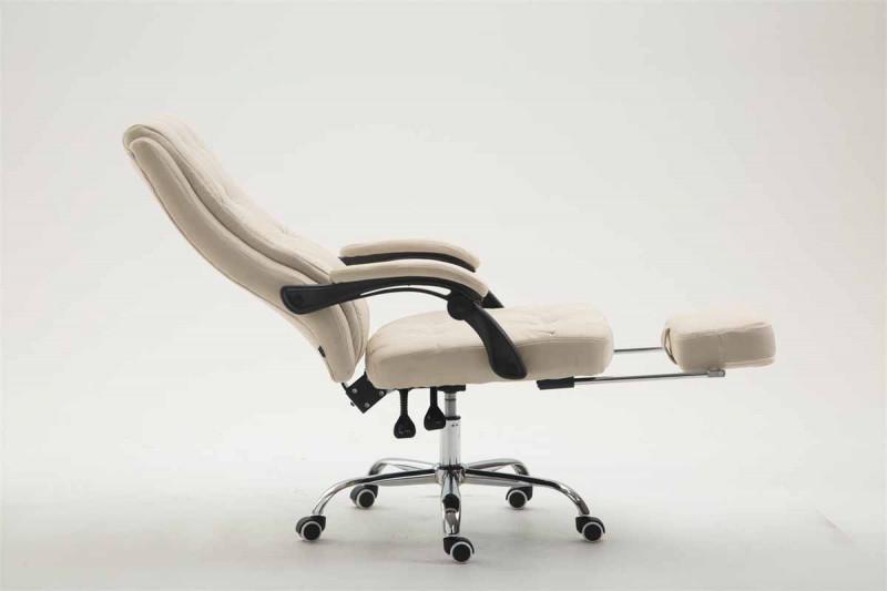 Clp arredo e complementi sedia da ufficio gear tessuto crema epto