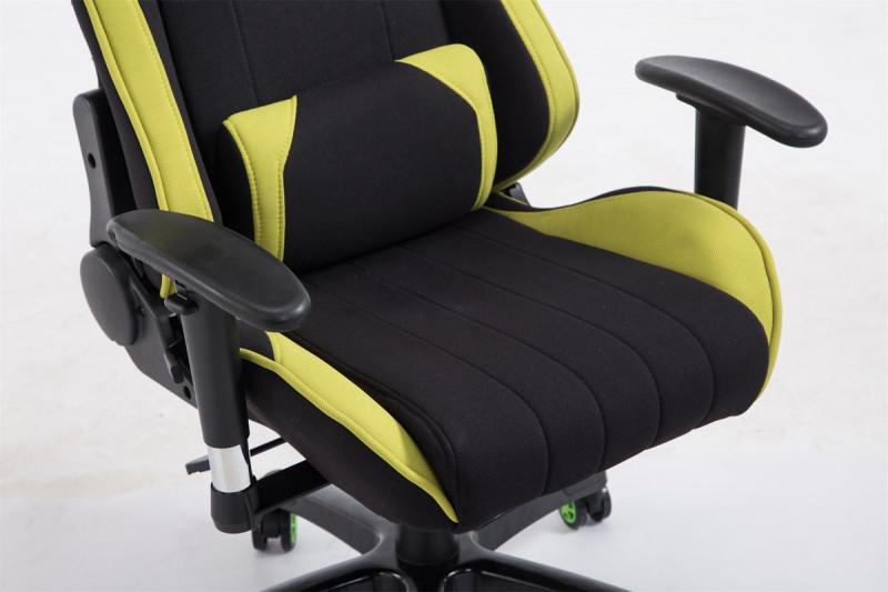 Sedia Ufficio Verde Mela : Clp racing sedia da ufficio shift v tessuto nero verde epto
