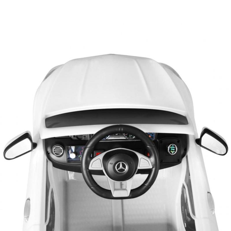 Vidaxl 12v Mercedes Blanc Amg S63 Jouets Enfants Pour Électrique Benz Voiture tsrBxhCoQd