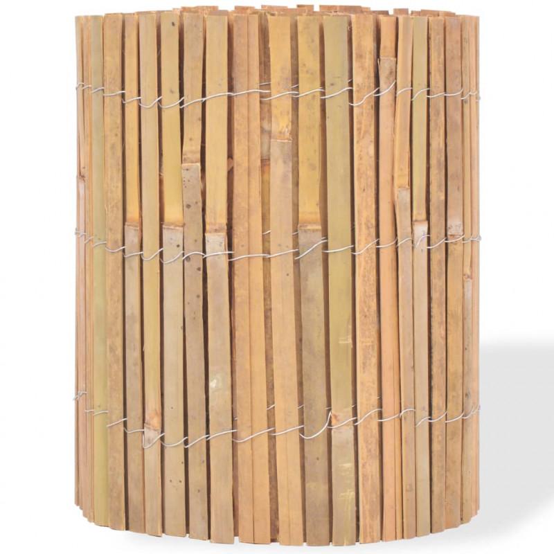 VidaXL VX142677 Clôture de jardin bambou 1000 x 30 cm - VX142677 - Epto