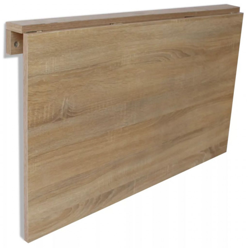 vidaXL VX243053 Mesa plegable pared roble100x60 cm - VX243053 - Epto