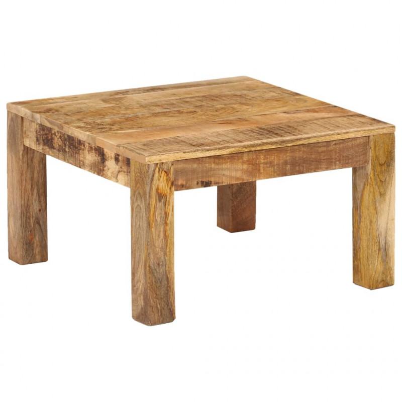 Tavolini Da Salotto In Legno Rustico.Vidaxl Arredamento Casa Cucina Tavolino Da Caffe In Legno Massello Di Mango 60x60x35 Cm