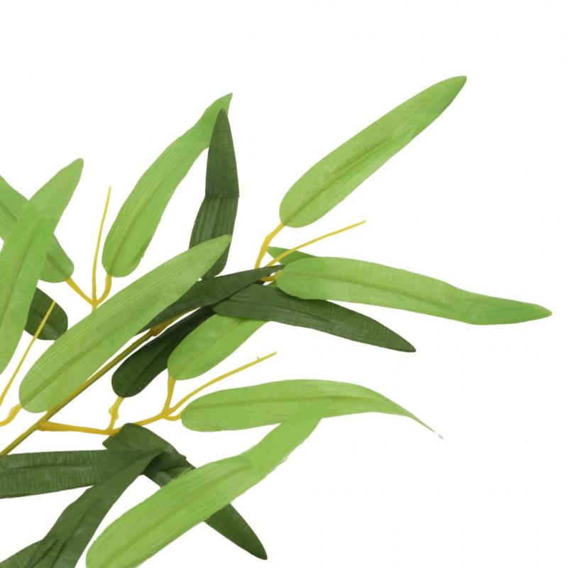 La Foglia Di Bamb.Vidaxl Arredo Giardino Foglie Artificiali Di Bambu 10 Pz Verdi 60 Cm