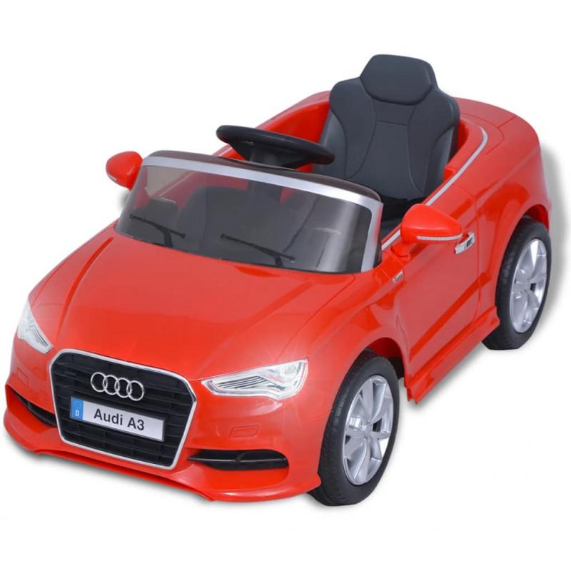 Voiture A3 Enfants Électrique Jouets Vidaxl Pour Audi Rouge Télécommandée thrQdsxBC