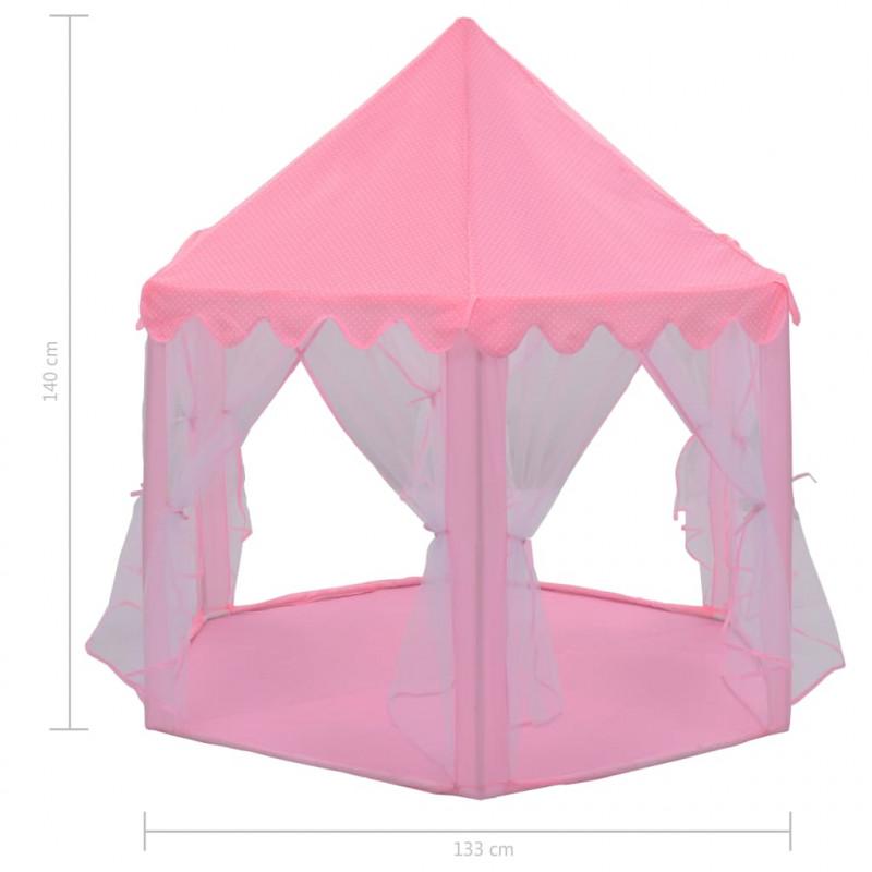 vidaXL Tente de Jeu de Princesse Château Enfant Extérieur