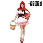 Costume per Adulti Th3 Party Cappuccetto rosso sexy XS/S