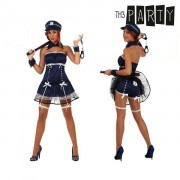 Costume per Adulti Th3 Party Poliziotto sexy XS/S
