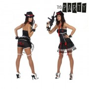 Th3 Party Costume per Adulti Th3 Party Gangster sexy XS/S