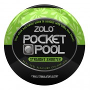 Zolo Masturbatore Pocket Pool Straight Shooter Zolo ZOLOPPSTS