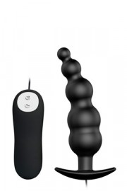 Plug Anale Vibrante Pretty Love Special Stimulation 12cm Nero