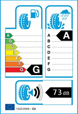 Etichetta classe di efficienza dello pneumatico